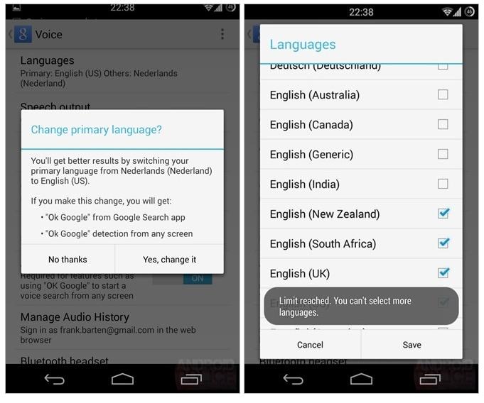 Ricerca Google Lingua Multipla