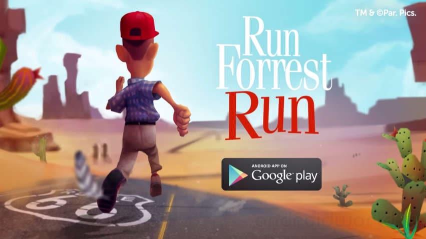 Run Forrest Run: il running game dedicato a Forrest Gump arriva su Android (foto e video)