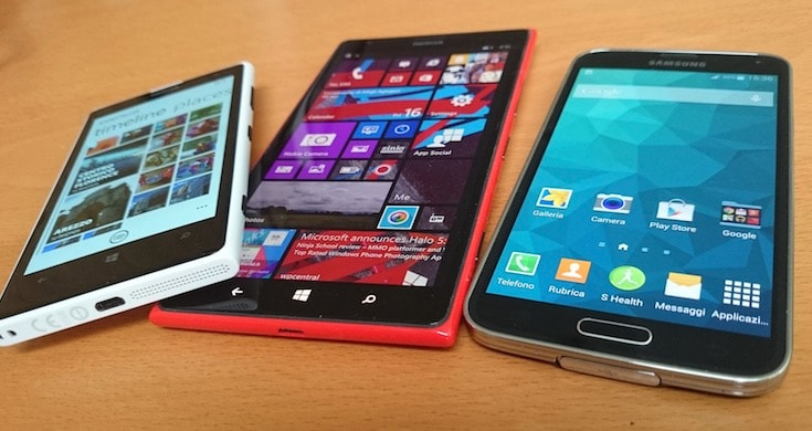 Samsung Galaxy S5 contro Nokia Lumia 1020 e Lumia 1520: il test fotografico