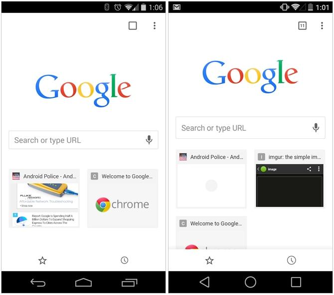 Chrome Beta si aggiorna e riporta l'indicatore per il numero di tab aperti