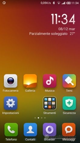 Screenshot Xiaomi Mi4 Home