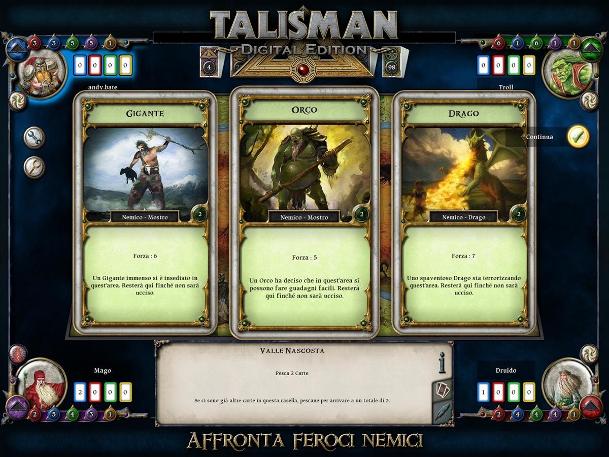 Talisman la nuova versione del gioco da tavolo fantasy - Talisman gioco da tavolo prezzo ...