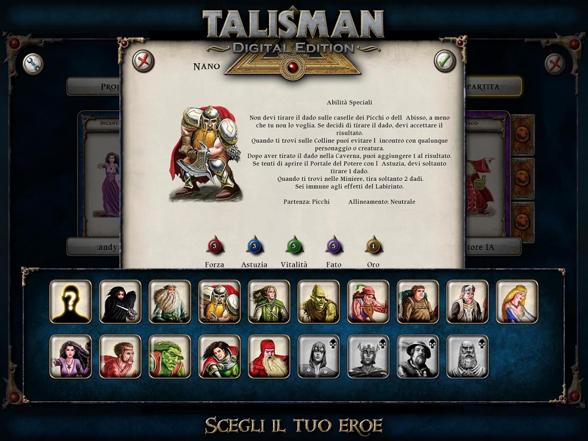 Talisman la nuova versione del gioco da tavolo fantasy - Talisman gioco da tavolo ...