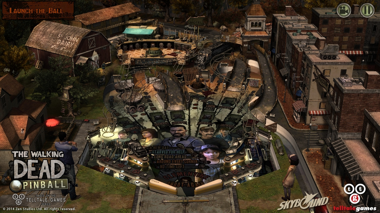 The Walking Dead Pinball (1)