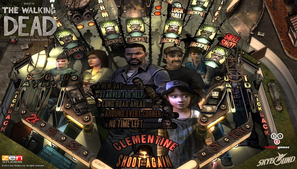 The Walking Dead Pinball Android (5)