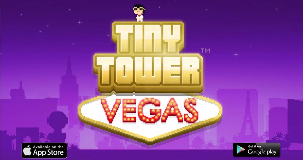 Nimblebit rilascia Tiny Tower Vegas sul Play Store (video)