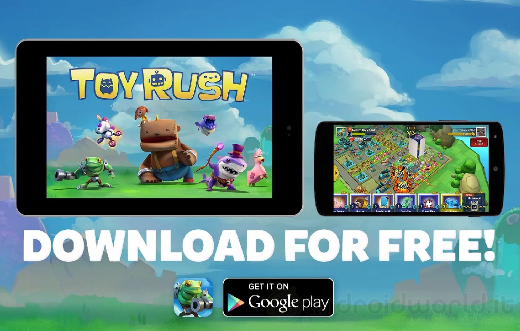 Toy Rush Android Header