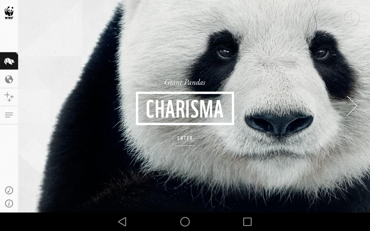 WWF Togheter_applicazione_enciclopedia animale
