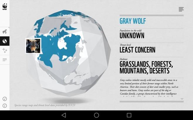 WWF Togheter_applicazione_enciclopedia animale (14)