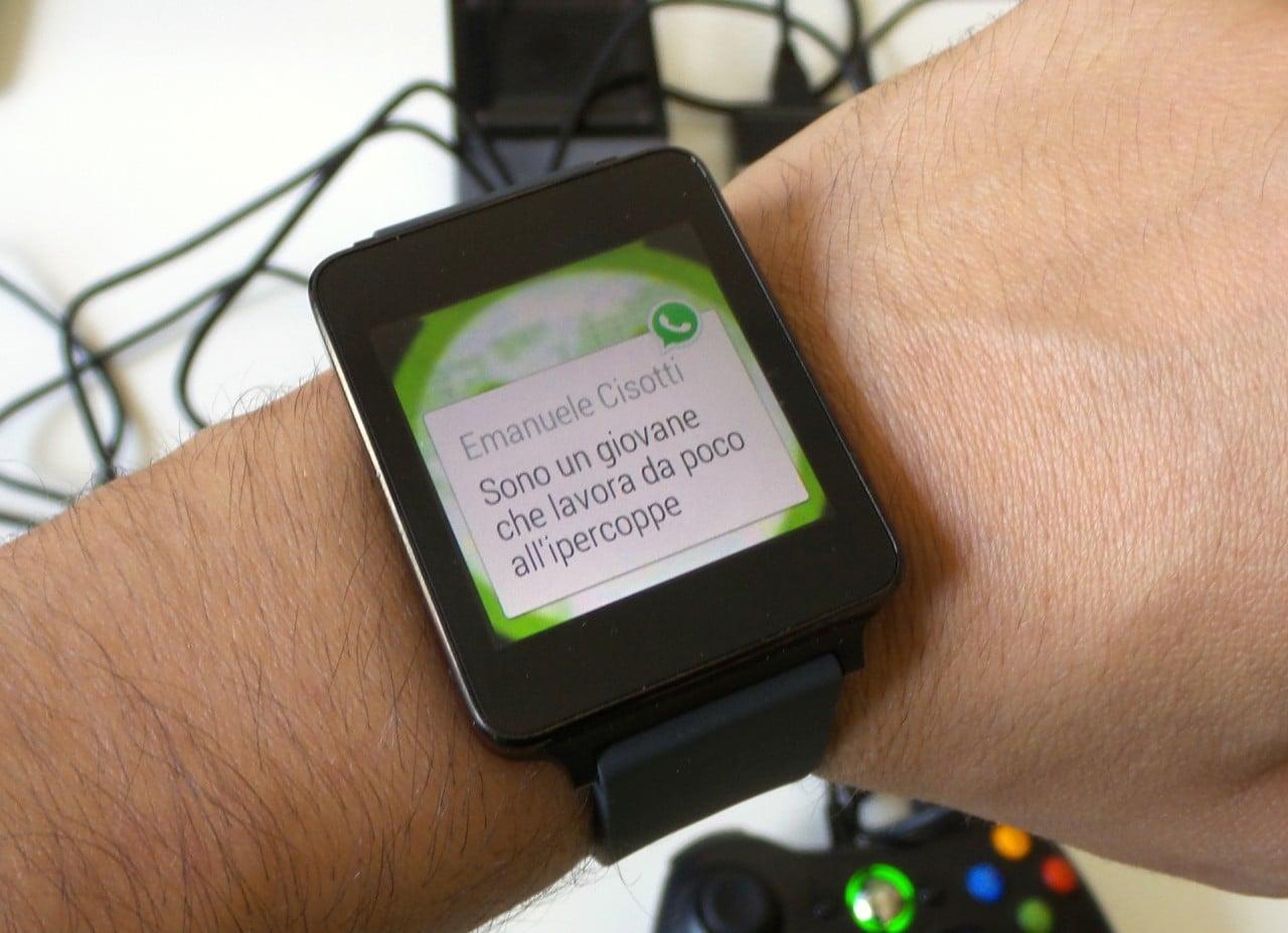 WhatsApp supporta Android Wear grazie all'ultima beta dell'app (download apk)