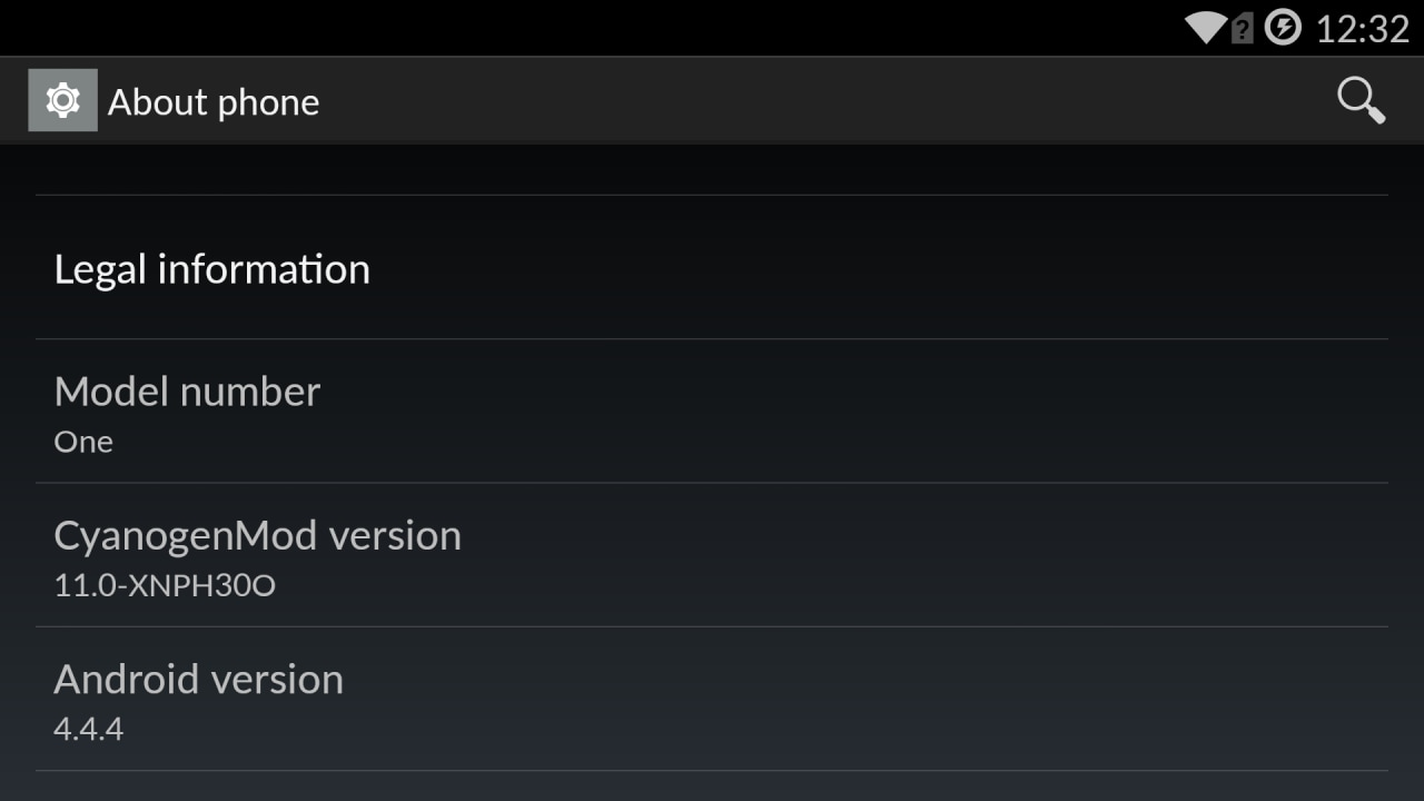 android 4.4.4 oneplus one