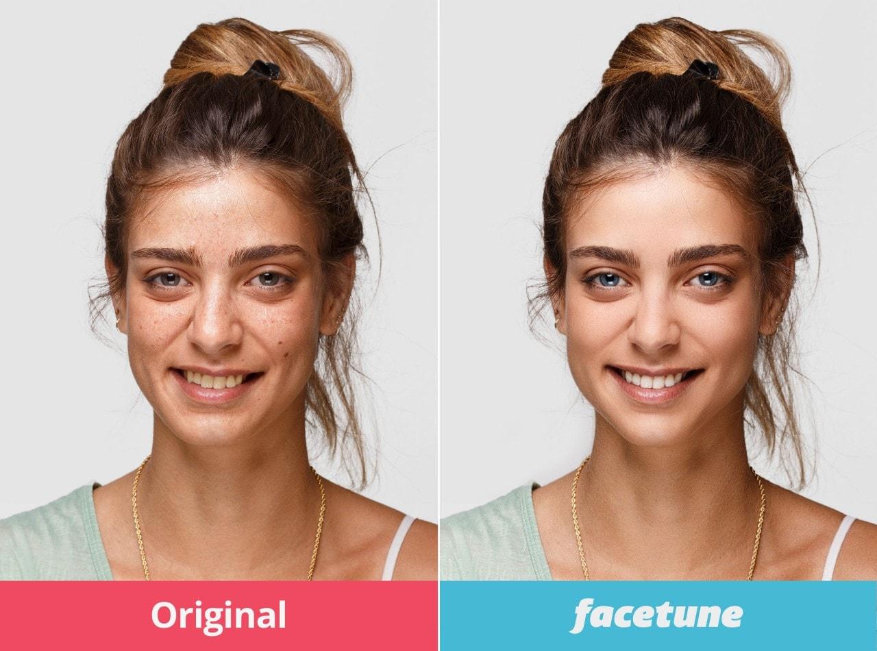 Facetune: l'app per il fotoritocco del volto a soli 10 centesimi sul Play Store!