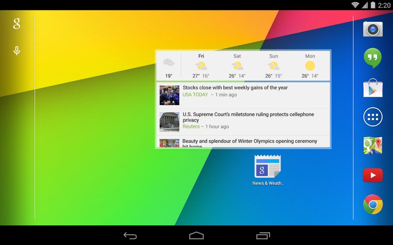 Google Notizie & Meteo risorge dalle ceneri e arriva nel Play Store con la versione 2.0 (download apk)