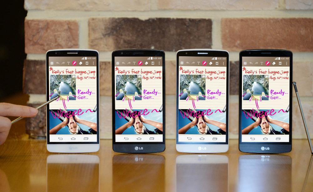 LG G3 Stylus: ufficiale con lancio all'IFA 2014