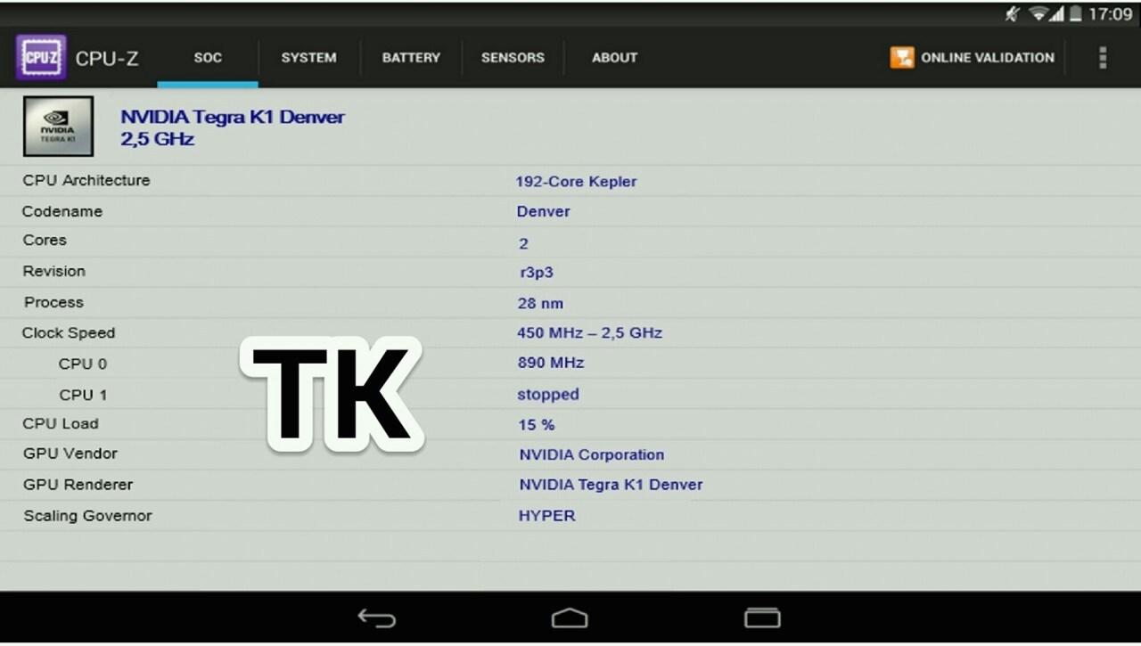 HTC Nexus 9 con Tegra K1 a 64-bit e 4 GB di RAM e Nexus X anche da 64 GB di storage?
