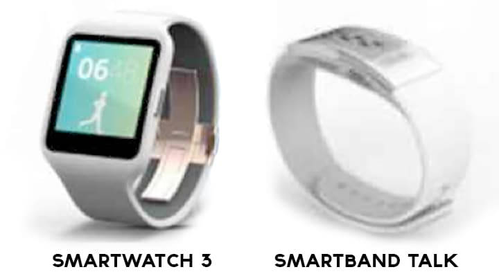 sony smartwatch 3 smartband talk