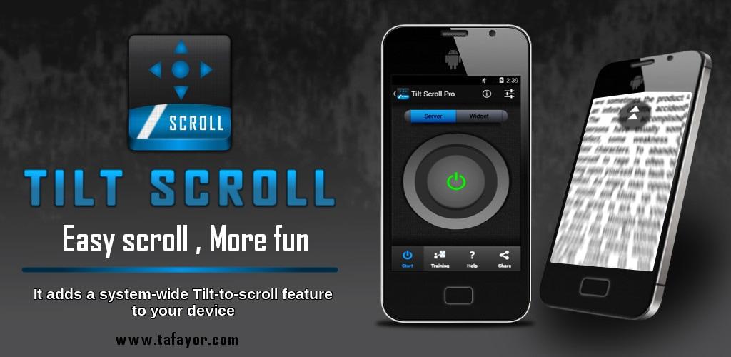 Come scorrere le pagine web inclinando lo smartphone: Tilt Scroll (foto)