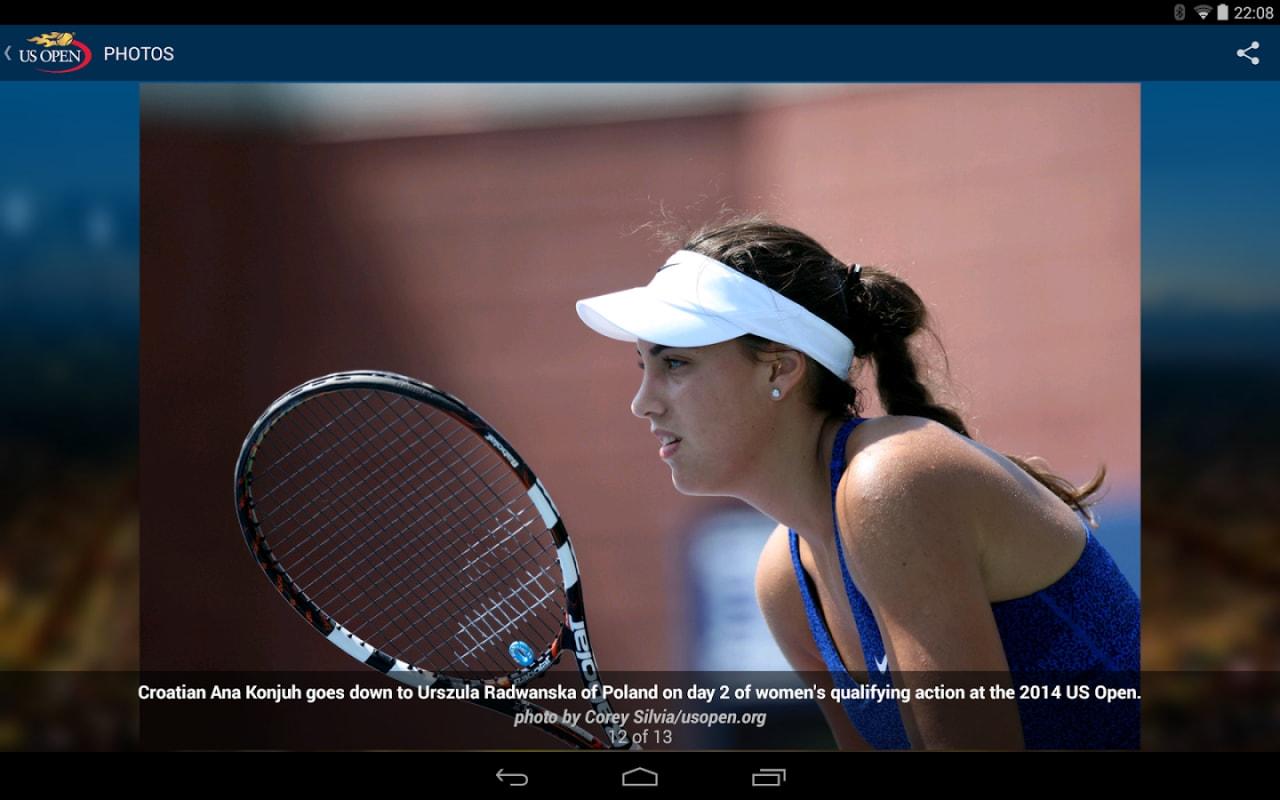 US Open: app ufficiale per portare in tasca il torneo del Grande Slam (foto)