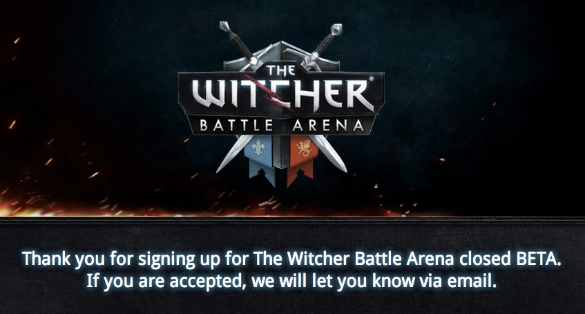 witcher closed beta