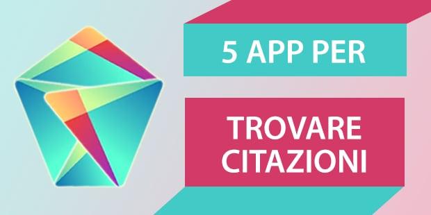 Migliori app Android citazioni