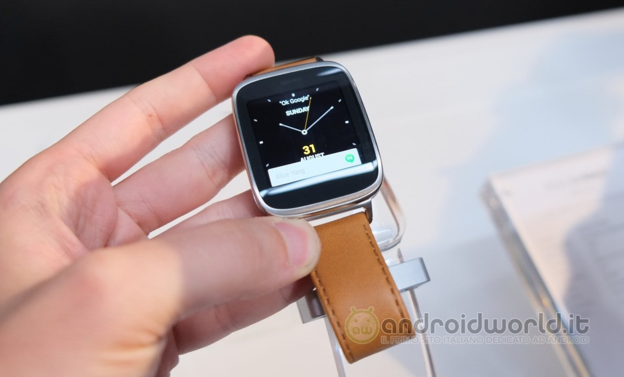ASUS ZenWatch a 205€ su Expansys.it