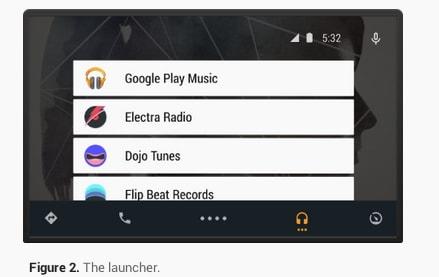 Android Auto UI 4