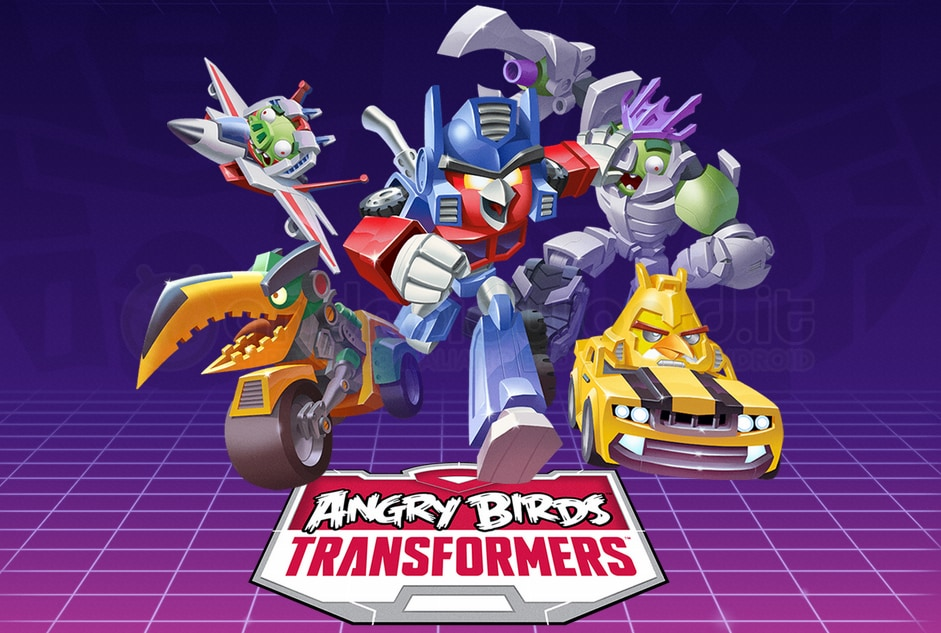 Angry Birds Transformers Android Header