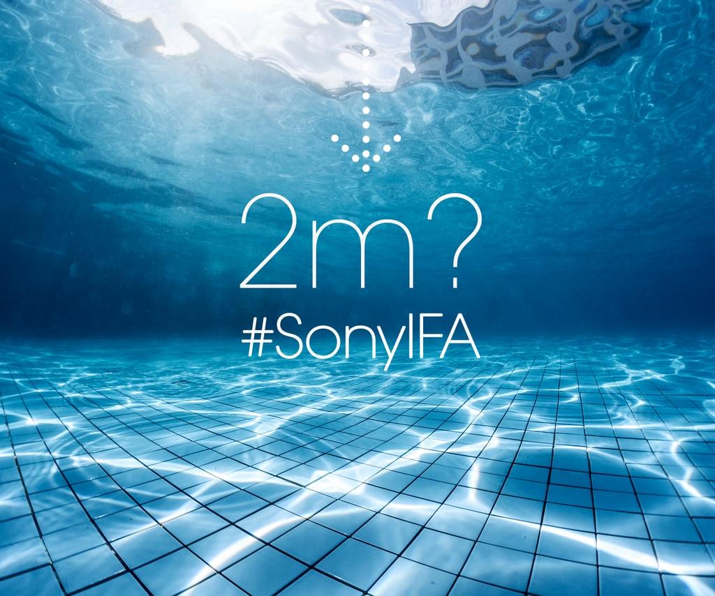 Sony: in arrivo un nuovo smartphone sempre più resistente all'acqua