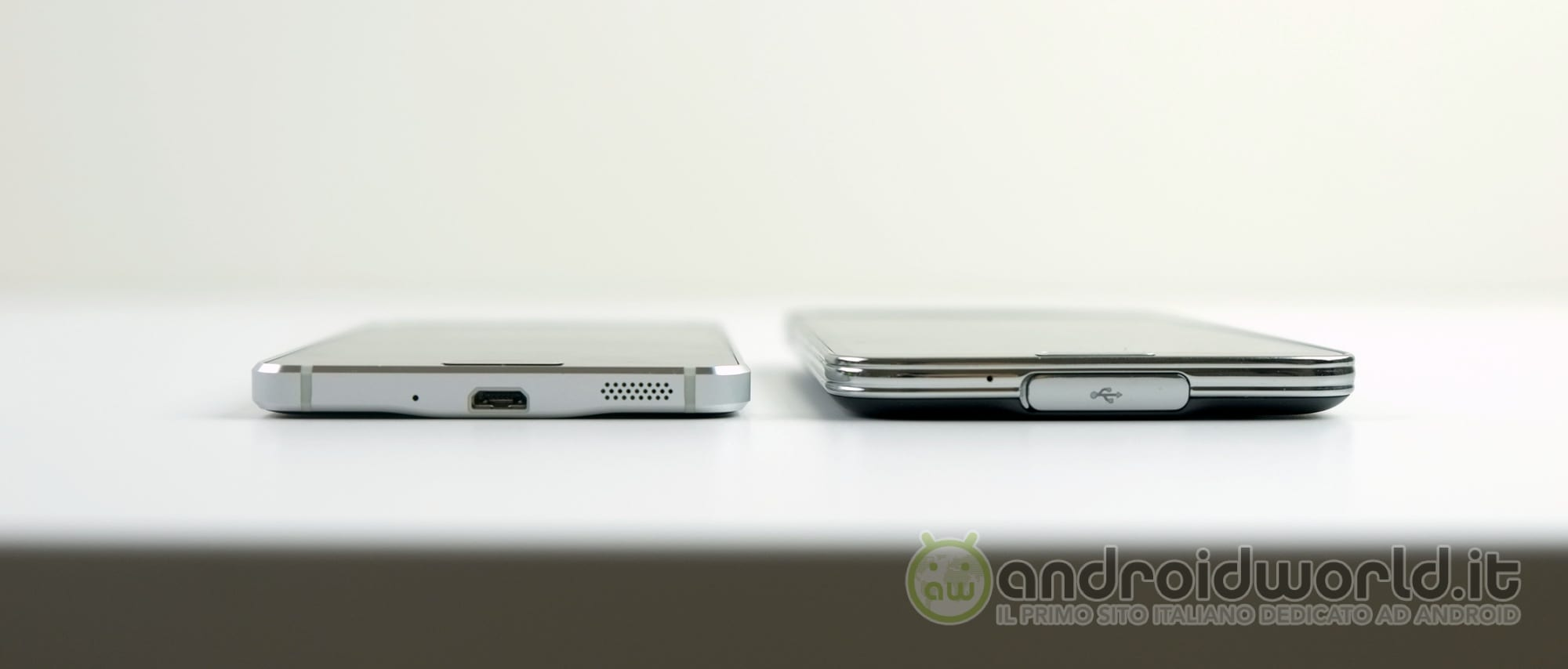 samsung galaxy alpha vs galaxy s5 il confronto foto e