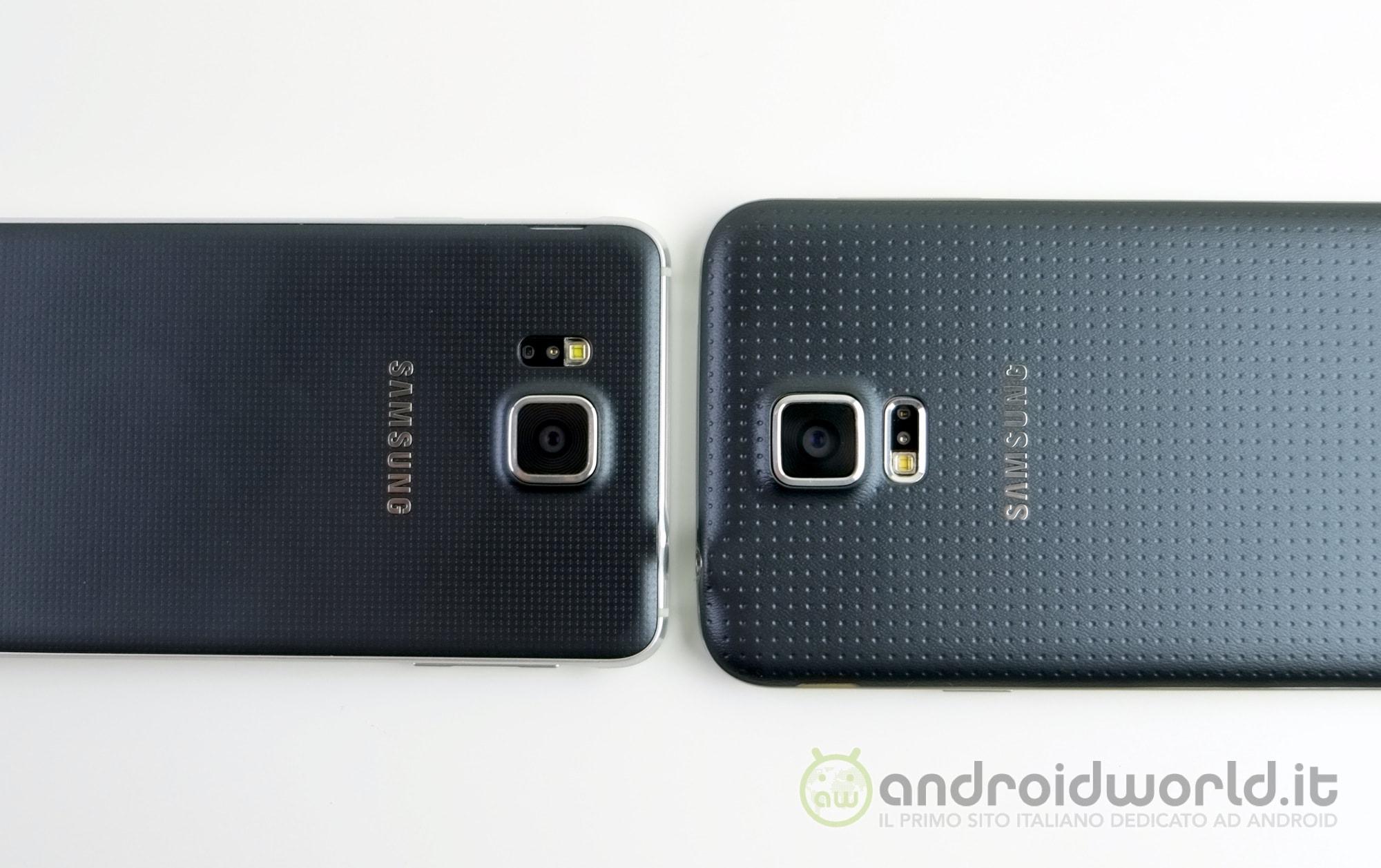 Samsung Galaxy Alpha vs Galaxy S5, il confronto (foto e ...