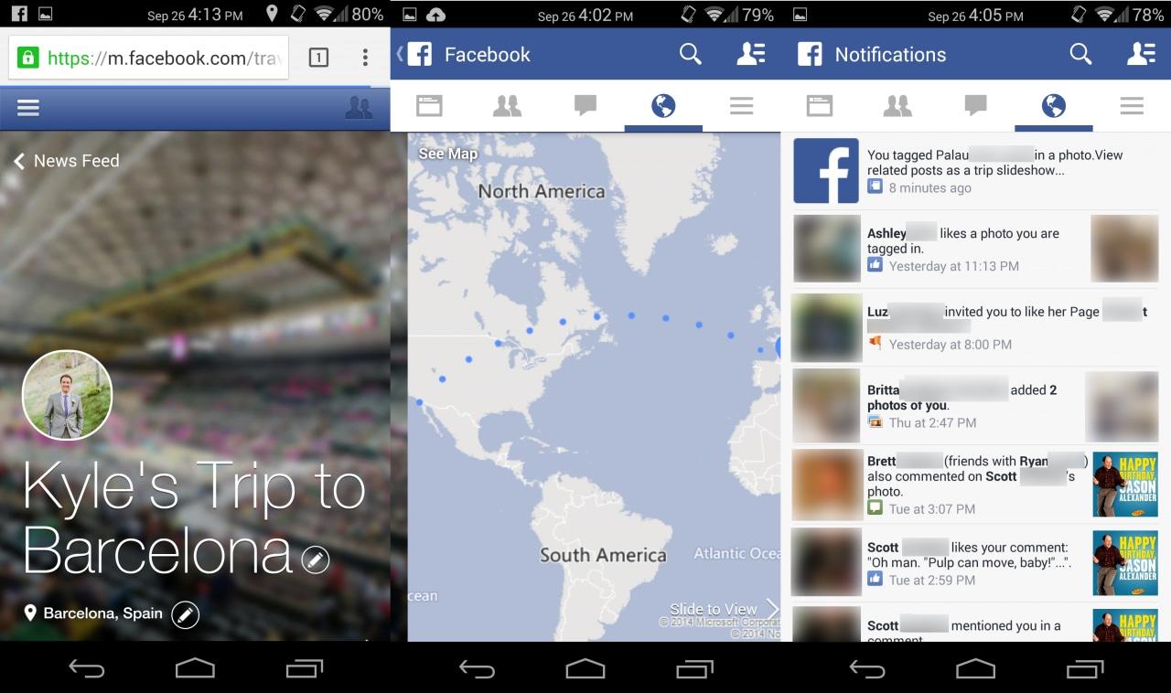 Facebook copia le Storie di Google+ con Trip Slideshow (video)