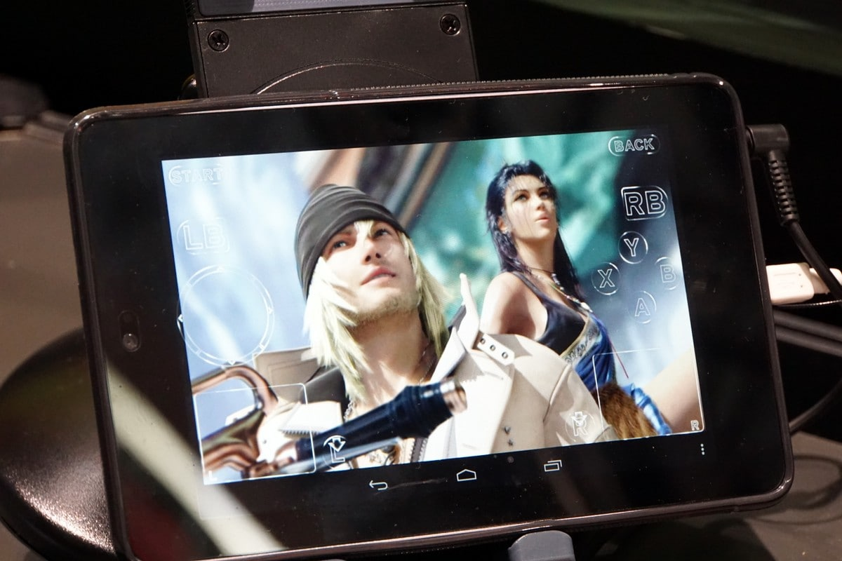 Final Fantasy XIII Android Tablet