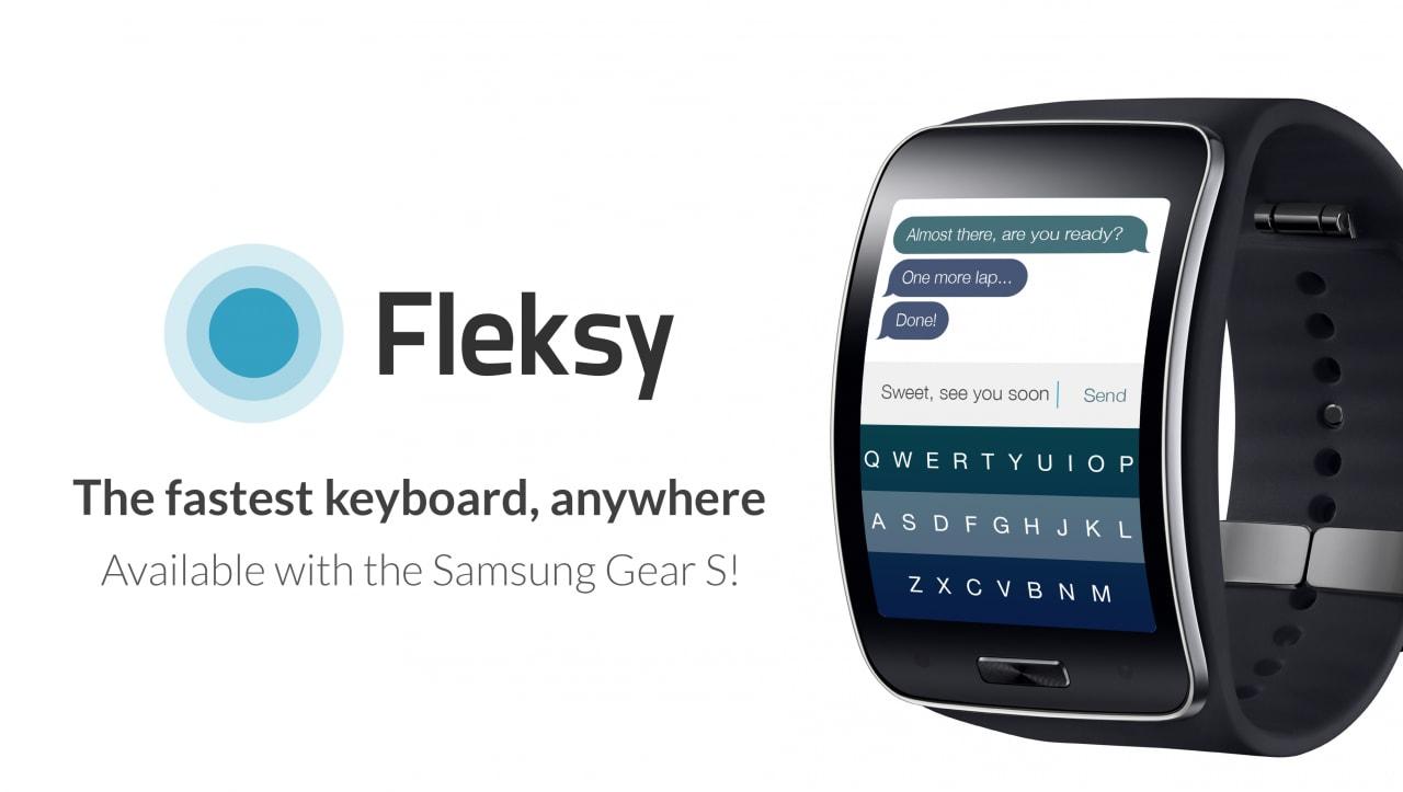 Fleksy arriva su Samsung Gear S (foto)