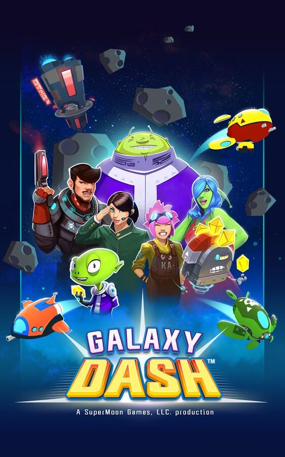 Galaxy Dash: un simpatico running game a base di astronavi, alieni e asteroidi (foto e video)