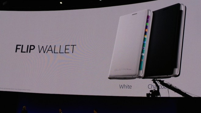 Galaxy note Edge Flip wallet