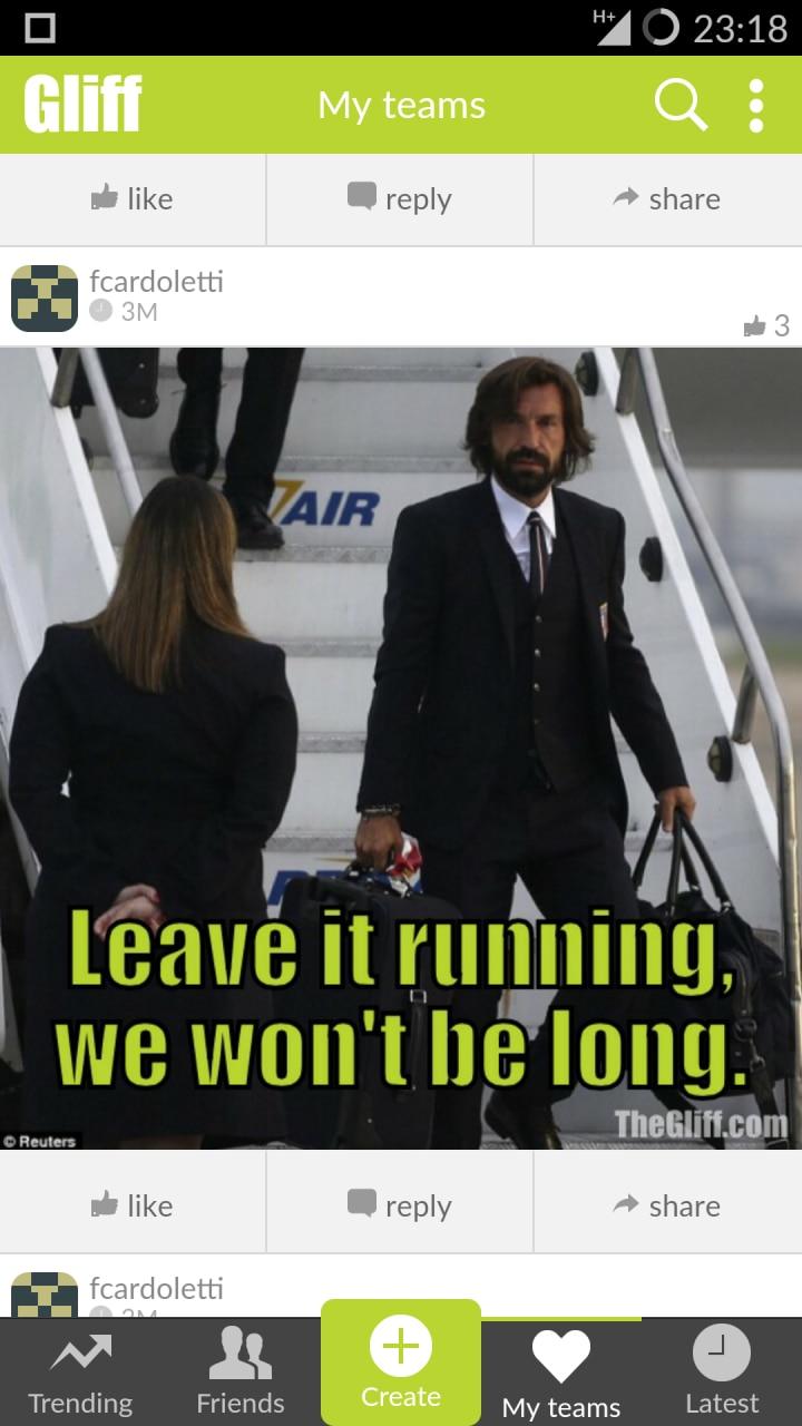 Meme ed immagini sul calcio: Gliff - Let's talk footy (foto)