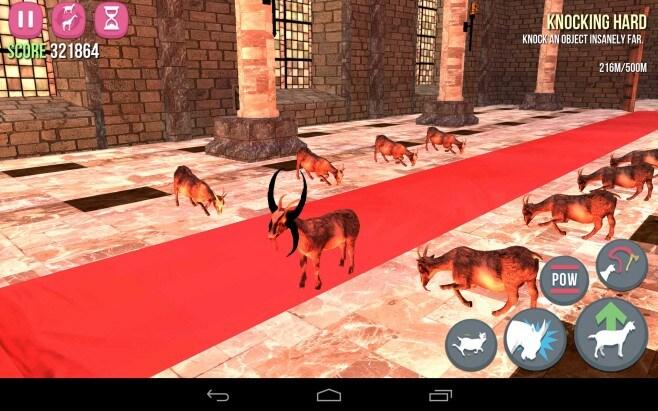 Goat Simulator Sample