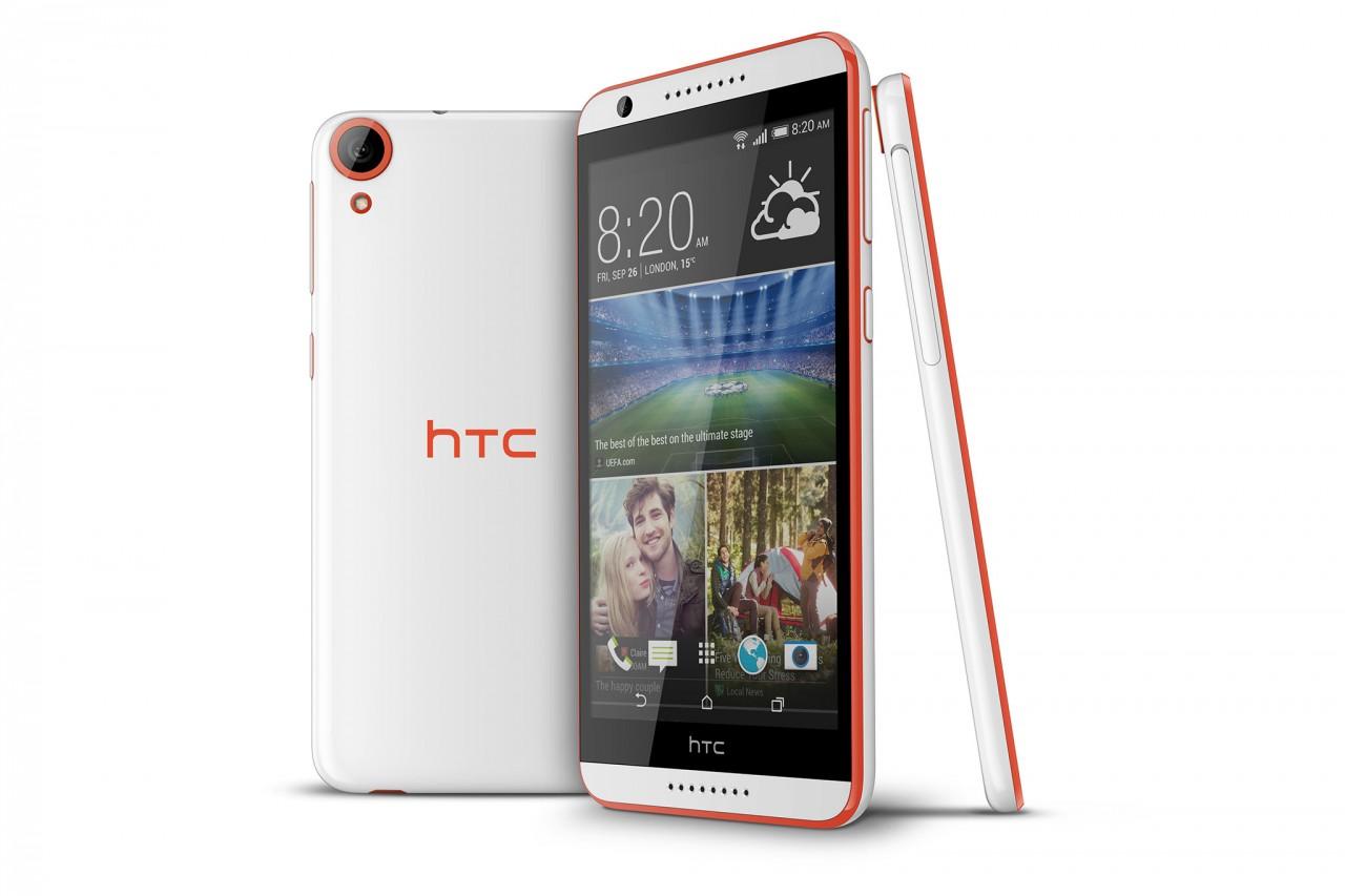 """HTC Desire 820 ufficiale: 5,5"""", Snapdragon 615 octa-core a 64-bit, doppio speaker frontale (foto e video)"""