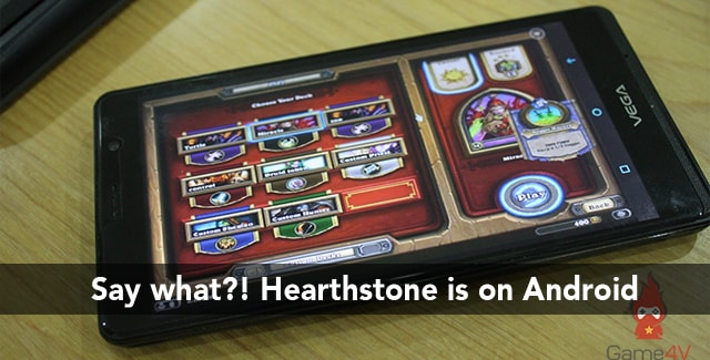 Hearthstone Android lol