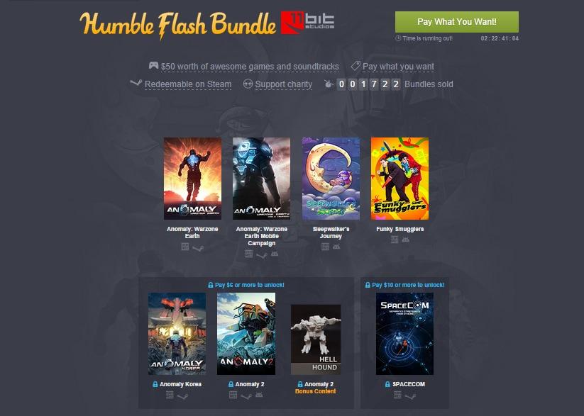 Humble Flash Bundle di 11 Bit Studios, il nuovo bundle con 5 giochi per Android