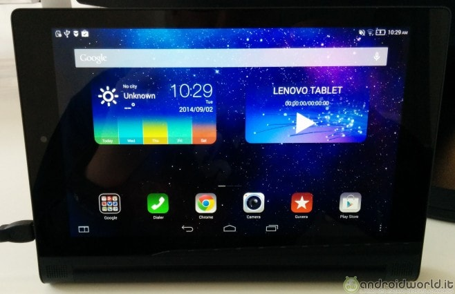 Lenovo YOGA Tablet 2 front