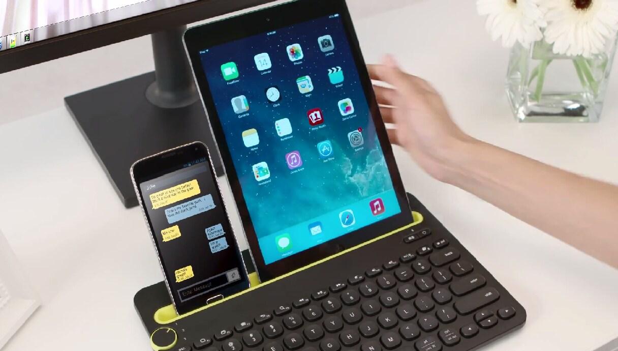 Logitech K480, la nuova tastiera Bluetooth multi-device di Logitech (foto e video)