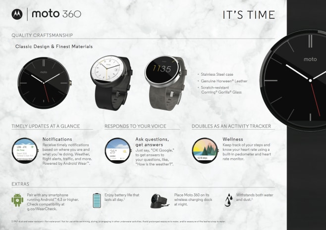 Moto 360 infografica