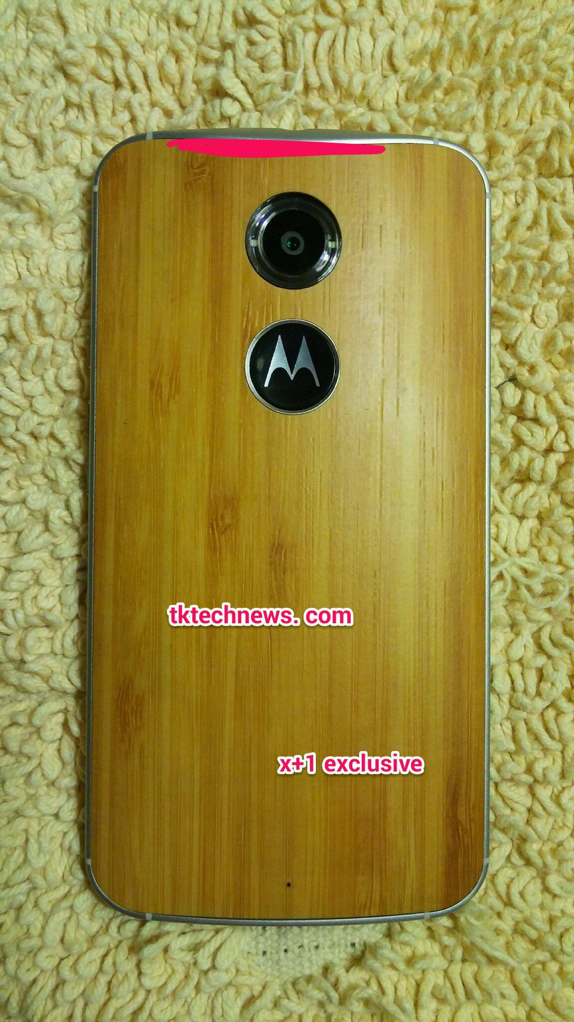 Moto X1 back