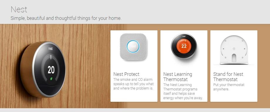 I prodotti Nest adesso disponibili in Francia e Irlanda sul Play Store (foto)