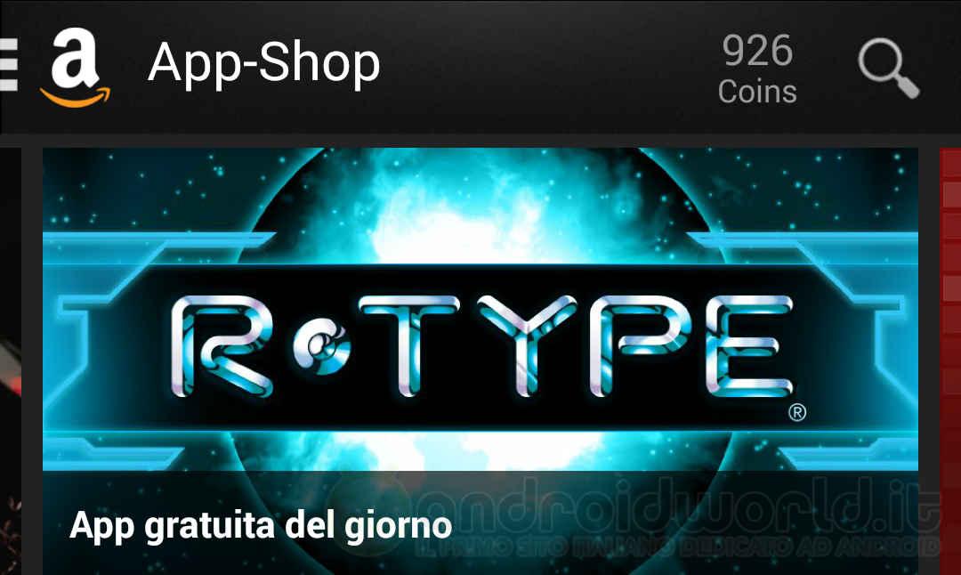 R-TYPE Amazon App-Shop