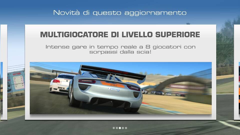 Real Racing 3 si aggiorna con multigiocatore online in tempo reale e altre novità (foto e video)