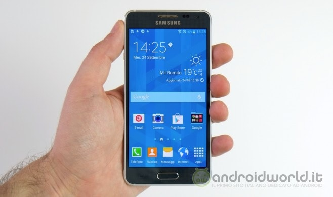Samsung Galaxy Alpha 10