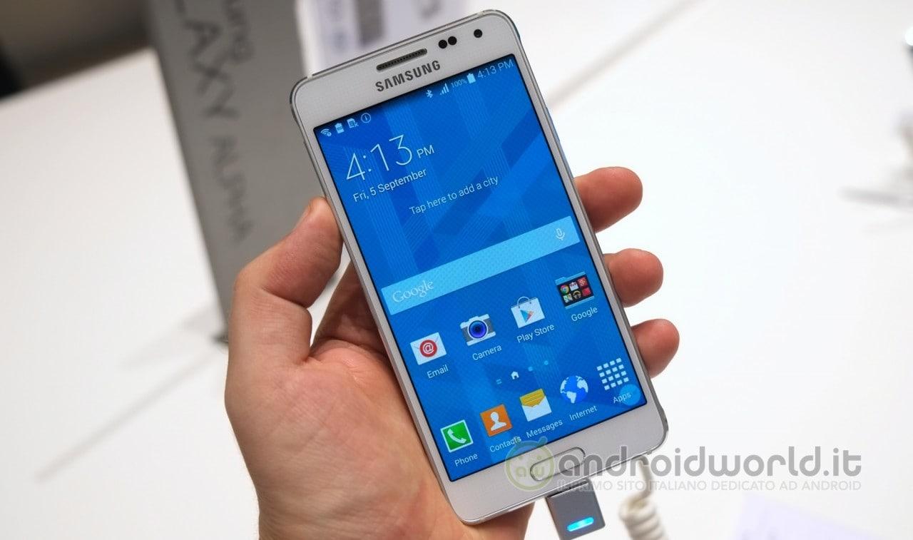 Samsung Galaxy Alpha anteprima 11