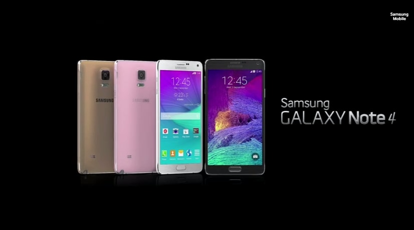 Samsung Galaxy Note 4 ufficiale